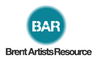 Logo BAR, Brent Artist Resource